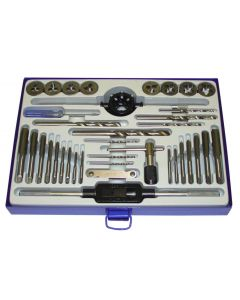 37 PCS DRILL-TAPS-DIES SET