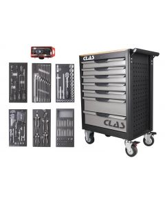 7 DRAWER ROLLER CABINET 185 TOOLS