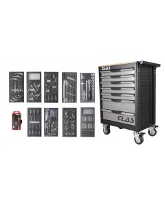 7 DRAWER ROLLER CABINET 203 TOOLS