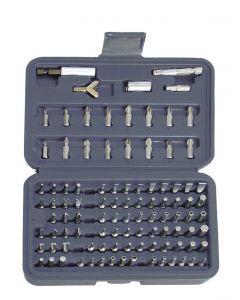 COFFRET EMBOUTS DE VISSAGE 100 PCS