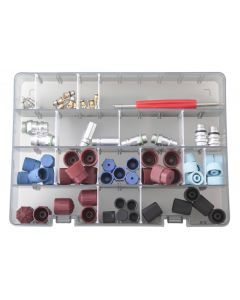 VALVE/CONNECTOR/PLUG AIRCON MAINTENANCE SET