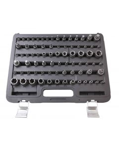 TS-TORX-TORX PLUS SOCKET AND SOCKET BIT SET (77PCS)