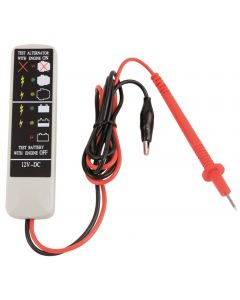 TESTEUR DE CHARGE (LED) POUR BATTERIES ET ALTERNATEURS 12V