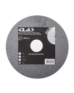 VITRIFIED GRINDING WHEEL GREY CORUNDUM 200x32x32mm GRIT 60