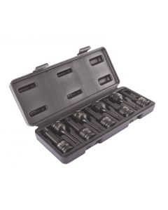 "IMPACT TORX SOCKET SET 1/2"" D. T20-T70 (9 PCS)"