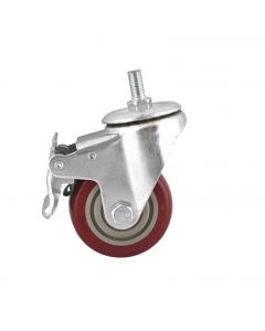 BRAKED SWIVEL WHEEL