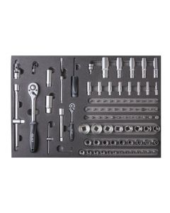 "SOCKET SET 1/4""-1/2"" (94 PCS)"