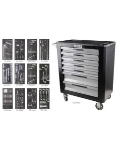 XL 7 DRAWER ROLLER CABINET 243 TOOLS