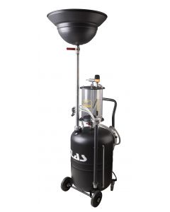 80l MIXED WASTE OIL DRAINER WITH BOWL
