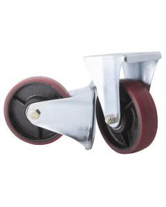 PAIR OF FIXED WHEELS Ø195x50mm