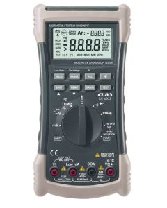 MULTIMETER MEGOHMETRE AND INSULATION TESTER 1000V CAT. III