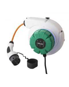 TYPE 2 WALLBOX WIFI REEL FOR ELECTRIC VEHICLE POWER SUPPLY