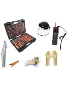 HYBRID AND ELECTRIC VEHICLES SECURITY KIT+PPE