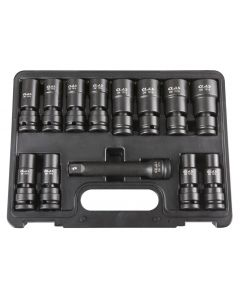 "1/2"" D. HEX IMPACT UNIVERSAL JOINT SOCKET SET"