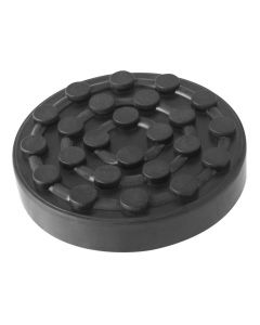 ROUND RUBBER PAD Ø124x26mm