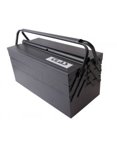 METAL TOOLBOX 3 STOREY/6 COMPARTMENT