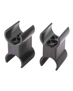 PAIR OF CLIPS FOR TELESCOPIC SUPPORT