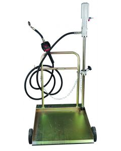 CHARIOT DISTRIBUTION HUILE MOBILE POUR FUTS 180-220kg