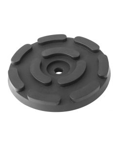 ROUND RUBBER PAD Ø143x25mm