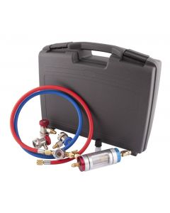 KIT DETECTION / FILTRATION IMPURETES SYSTEME CLIMATISATION R134