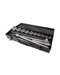 """COMPOSITION CLIQUET + 10 DOUILLES 6 PANS 3/4"""""""