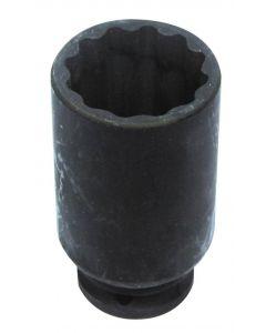 DOUILLE CHOC 12 PANS Ø35mm 1/2'' L.85mm