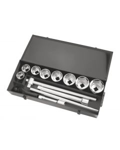 "RATCHET+8 HEX SOCKET SET 1"" D. 46-80mm"