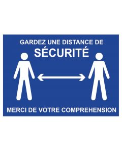 SAFETY DISTANCE SIGNPOSTING 210x297mm