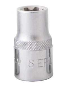 """DOUILLE TORX PLUS EP8 L.25mm 1/4"""""""